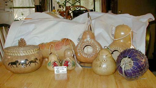 Assorted Gourd Projects